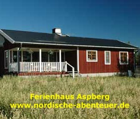 Ferienhaus Lansjärv Aspberg