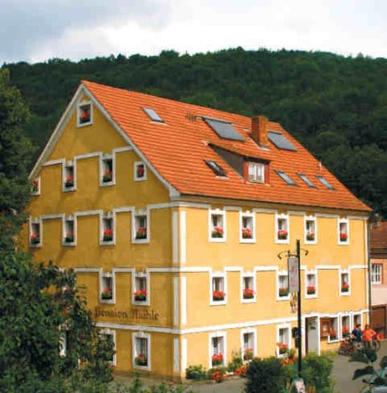 Ferienwohnung Egloffstein, Bayern Pension Mühle FW I
