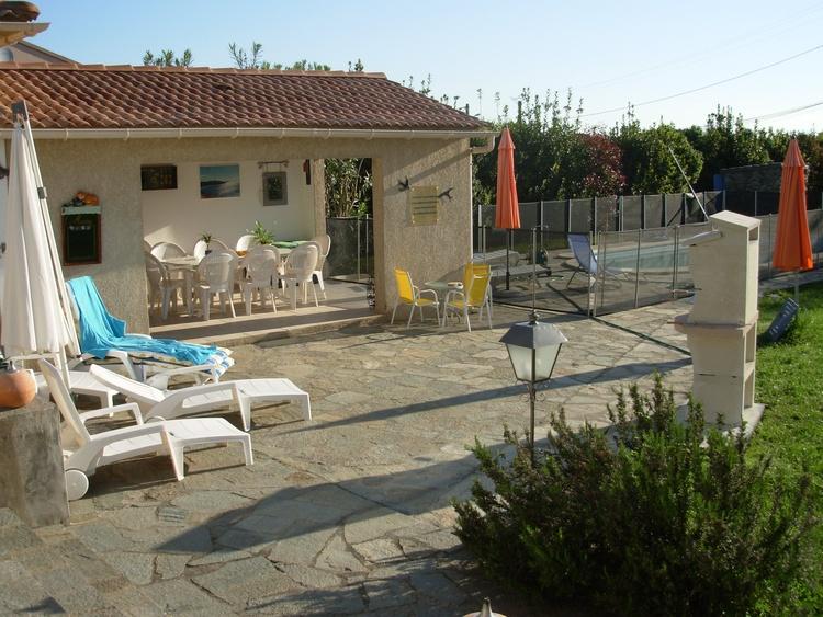 Sommerküche xxl : Ferienvilla querciolo korsika villa miramonte mit sommerküche und