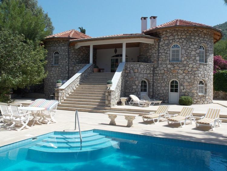 Ferienvilla Dalaman, Mugla Exklusive Luxus Villa, Pool + Garten ...