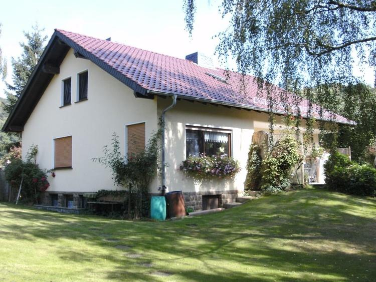 Ferienhaus Waldkappel Hessen Haus Hubertus Ferienwohnung