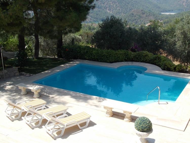 ferienvilla dalaman mugla exklusive luxus villa pool garten uneinsehbar ferienwohnung. Black Bedroom Furniture Sets. Home Design Ideas