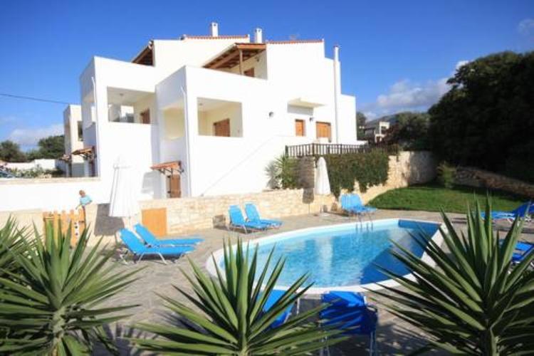 ferienhaus rousospiti kreta exclusive villa mit pool. Black Bedroom Furniture Sets. Home Design Ideas
