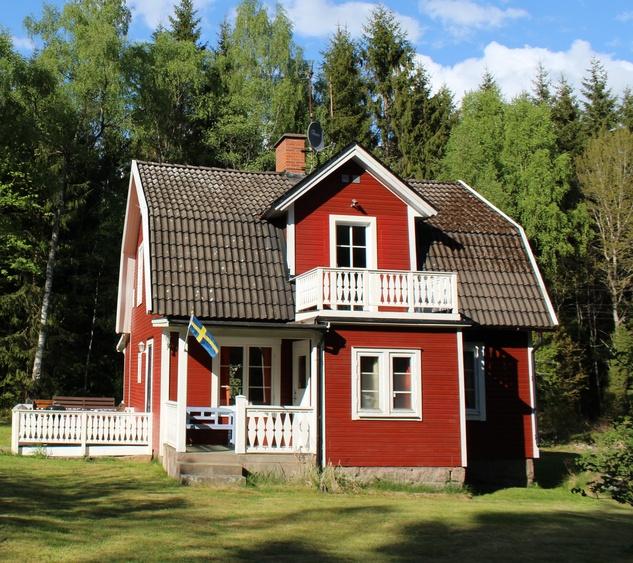 Ferienhaus Eringsboda, Südschweden Haus Blanken