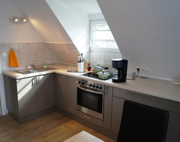 Kitchen completely equipped