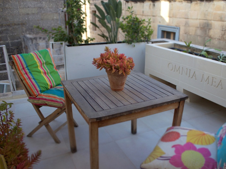 Enjoy Malta's mild weather in private roof terrace