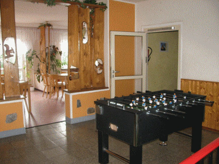 table football and lounge