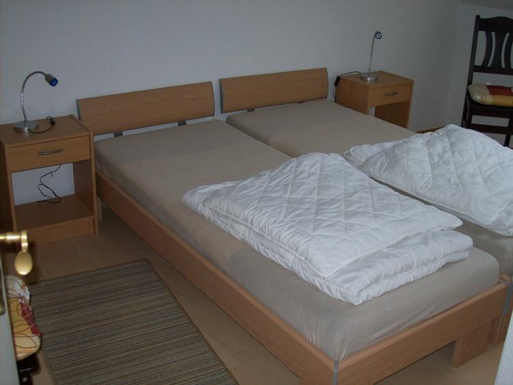 Wohnung I, Doppelbettschlafzimmer