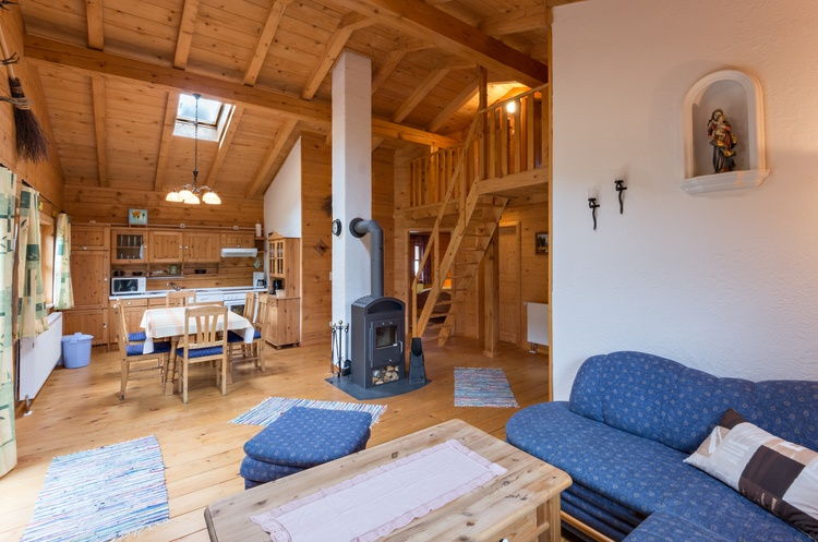 Holzblockhaus Riedlstein