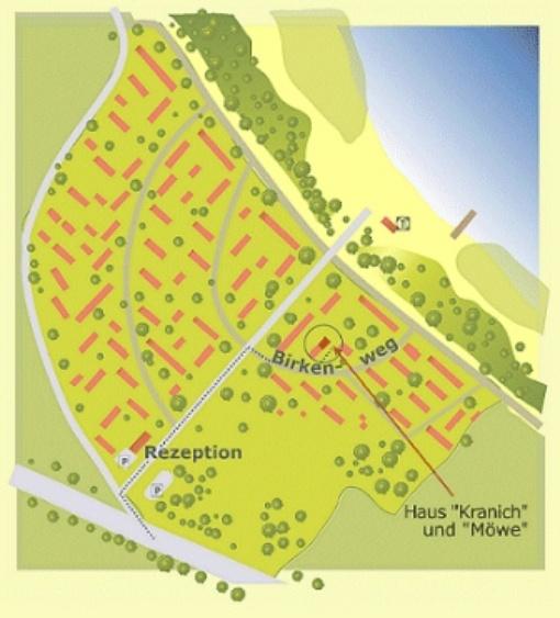 Lageplan Feriendorf