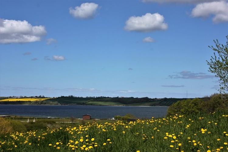 Blick vom Grundstück auf die Ostsee