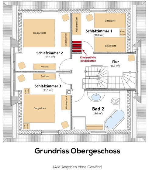 Grundriss 1.Etage