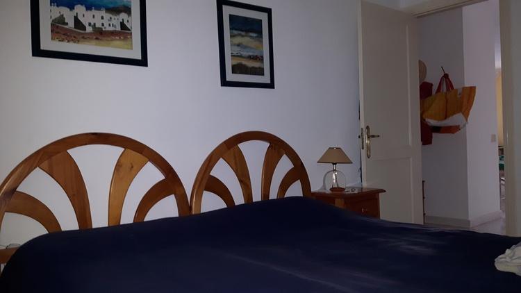 Sleeping room with doublebed
