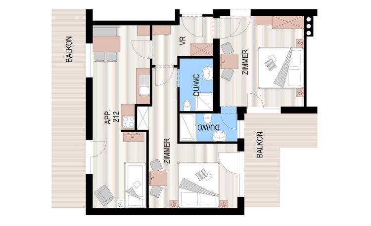 BuB Appartements Glungezer - apartment for 4 until 6 persons