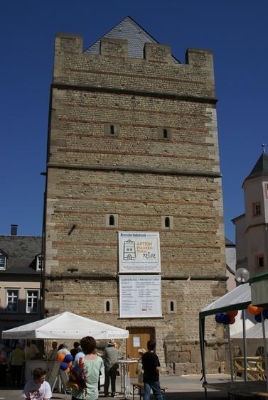 Der Frankenturm - ein ehem. Wohnturm