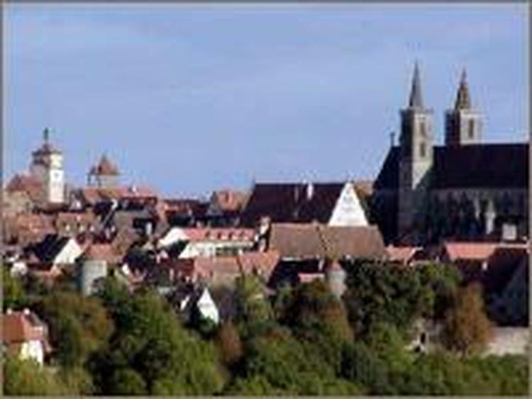 Rothenburg ob der Tauber, 22 km