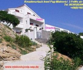 Ferienhaus Miskovici Insel Pag