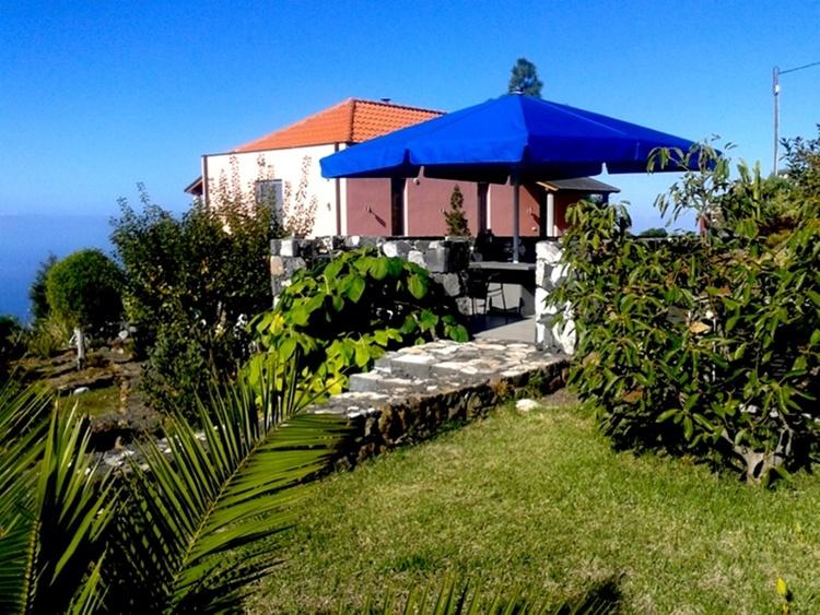 meadow, terace, villa