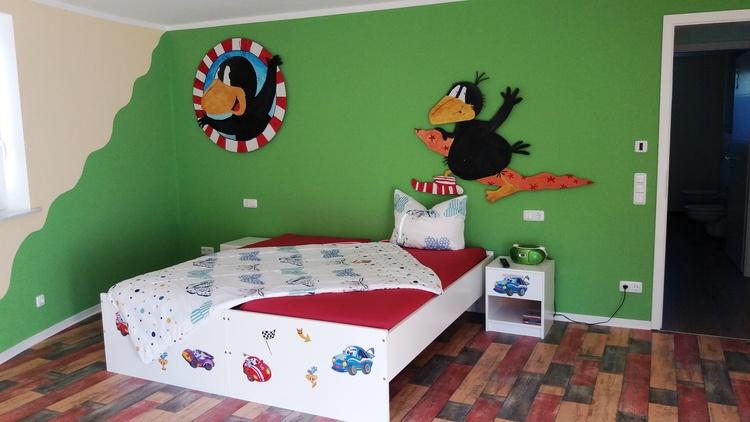 Kinderzimmer 2 Betten a 90 x 200