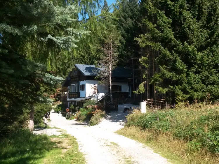 Zufahrt zum Ferienhaus