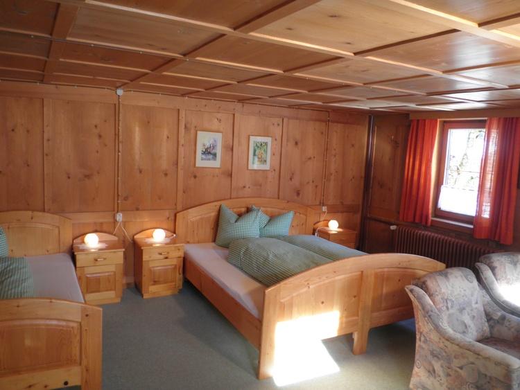 Bed room flat No. 4