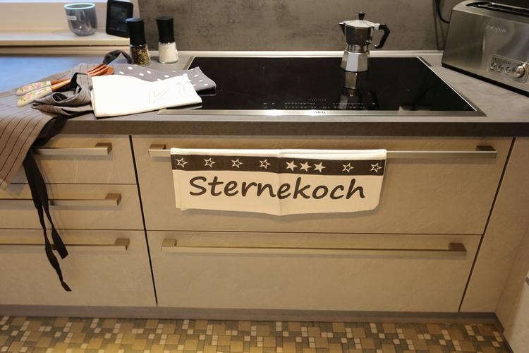 Ferienhaus Däschinger Zweiradparadies kitchen for star chefs everything is available.