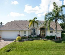 holiday villa Cape Coral