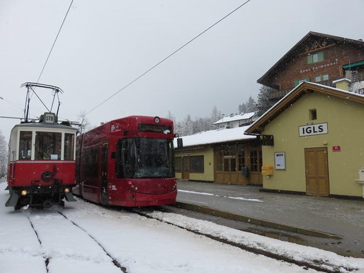 Straßenbahn Endstation Igls