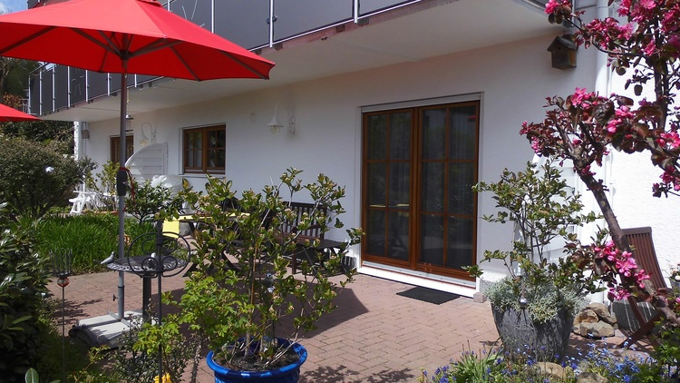 Apartment Nr.1 Sonnige Süd-Terrasse