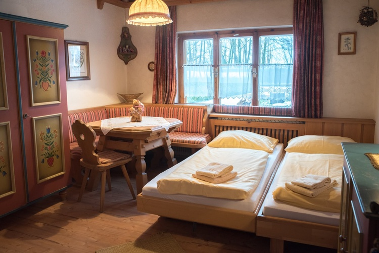 Double room in the entrance