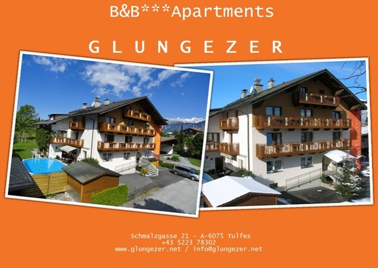 BuB Appartements Glungezer  for summer and winter holiday