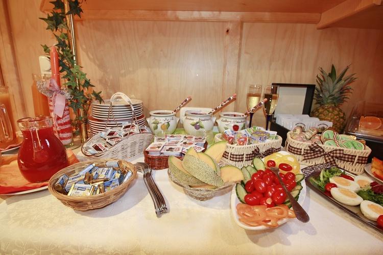 Unser reichhaltiges Frühstücksbuffet