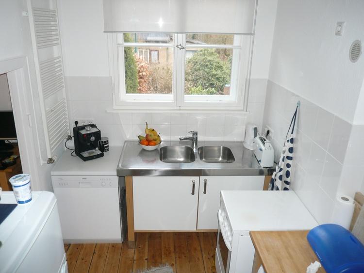 Berlin-Cottage - voll ausgesattete Küche