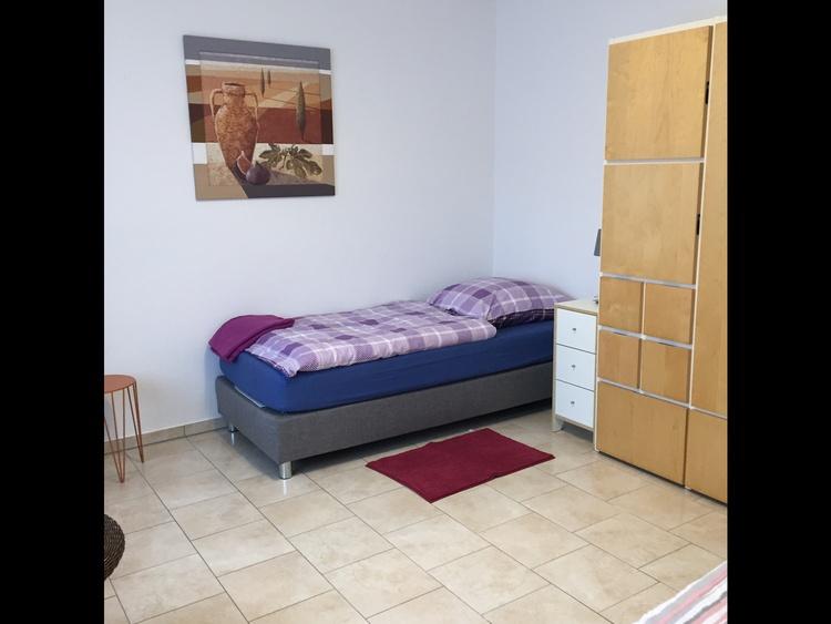 Schlafzimmer 2 , 2 Betten