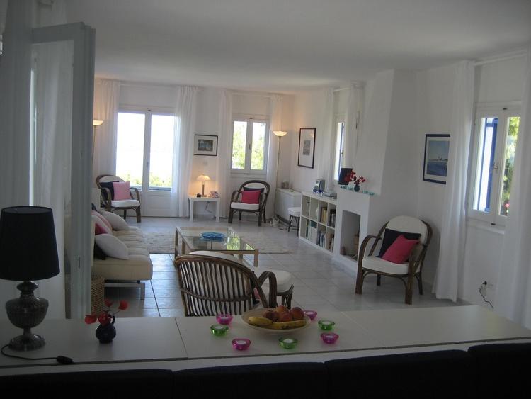 Wohnzimmer Sicht von Offener Küche