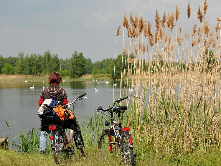 Mit dem Fahrrad um den Kummerower See. Fahrradwanderweg Start direkt am Ferienhaus