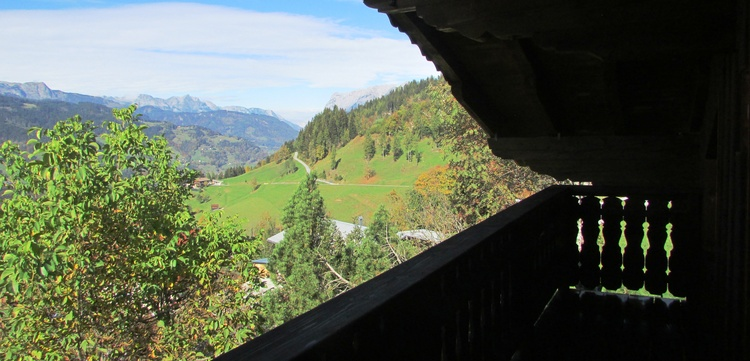 balcony - view to the mountains