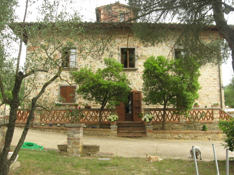 Casa La Greta Eingang