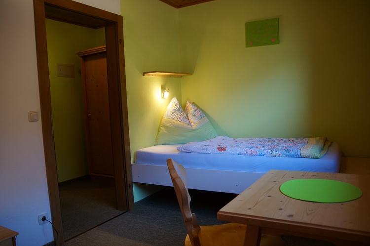 Eines von 2 Einbettzimmern