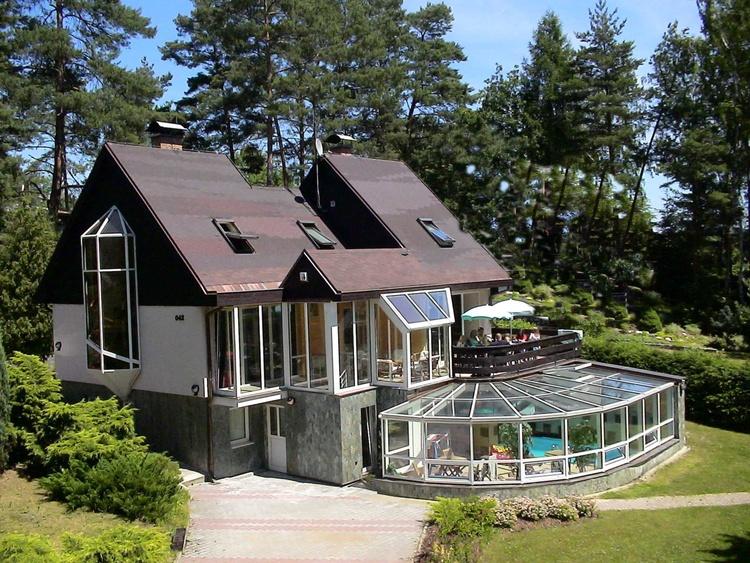 Wellness Ferienhaus BRANZEZ - Innenpool,Sauna,Dampfbad,Skigebiet, Iser-Riesengebirge,Prag