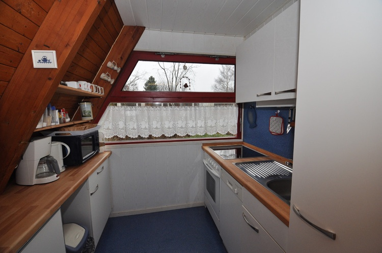 Zeltdachhaus Küche