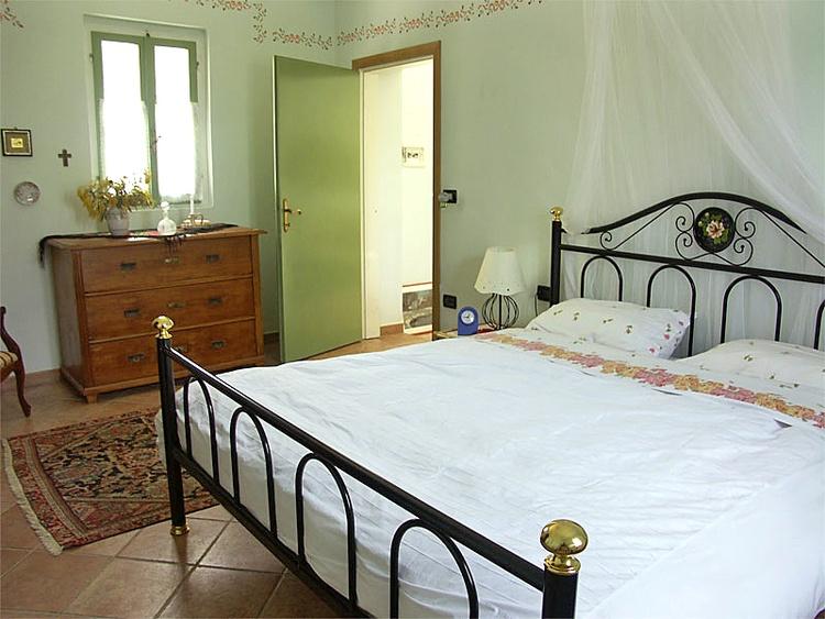 Schlafzimmer der Dependance