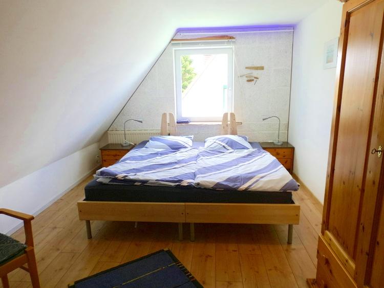 obere Wohnung, Schlafzimmer