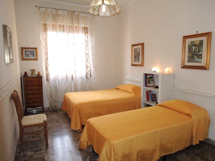Appia apartment double bedroom