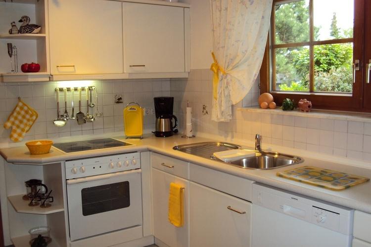 Apartment Nr.1, Komforteinbauküche, Backofen