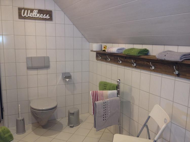 WC im duschbad