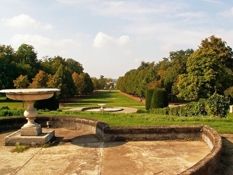Ausflug in die Residenzstadt Neustrelitz - Der Schlossgarten