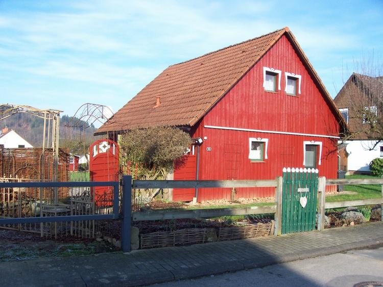 Das Ferienhaus mit großer Freifläche