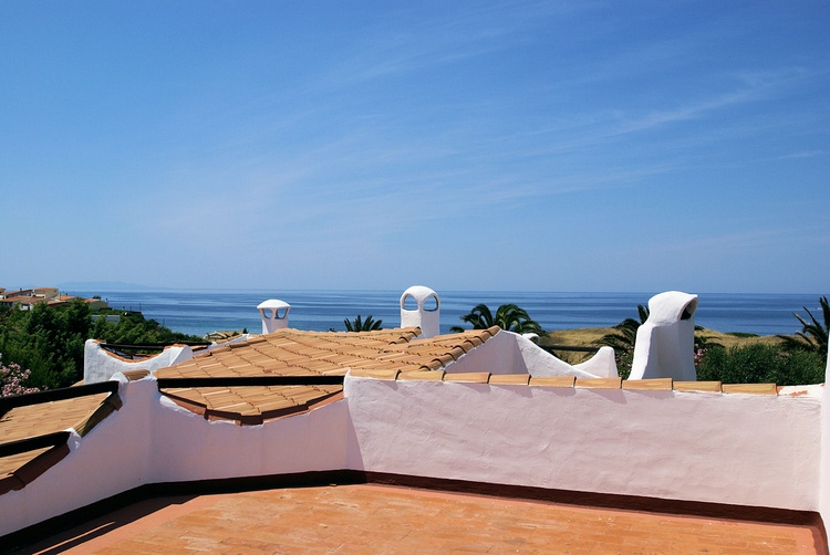 Roof terrace with sea view holiday homes Sa Fiorida