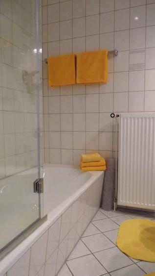 Apartment Nr.1, für 2 - 3 Personen, Wanne/-Dusche
